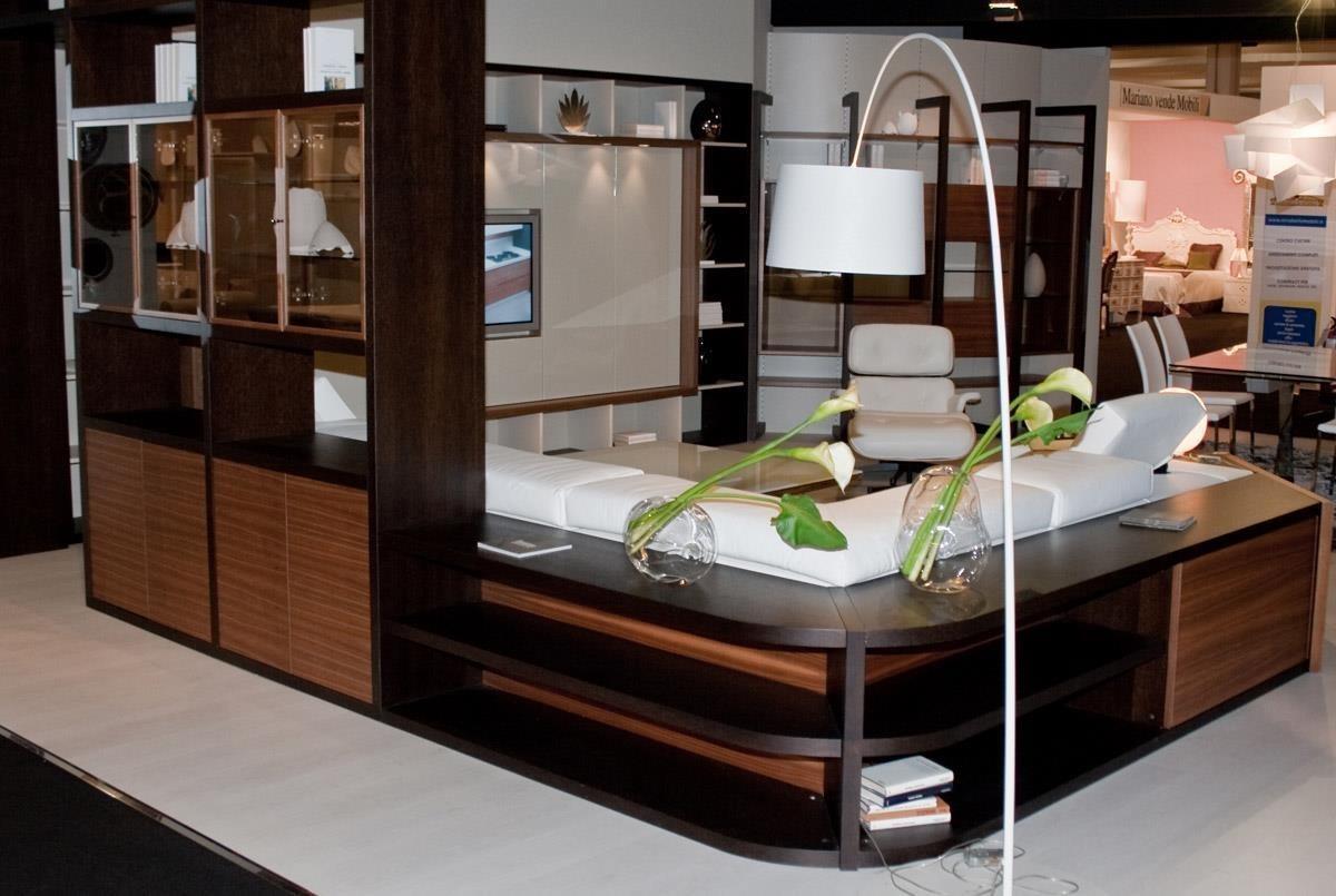 mobile retro divano con vetrina bifacciale produzione